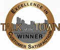 Winner of the 2011 CMUS Talk of the Town Award for Excellence In Customer Satisfaction based on all new CMUS Power Ratings