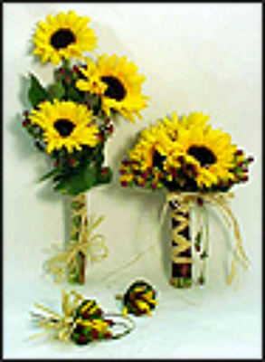 Fresh Sunflower Wedding Package(Click picture for details)