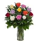 Dozen Roses - Mix it up! colors may vary