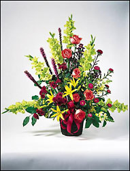 Fresh Floral Urn Arrangement